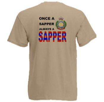 ONCE A SAPPER TSHIRT